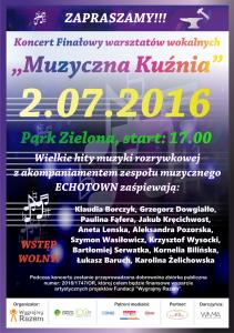 PALAKAT KONCERT FINAŁOWY Muzyczna Kuźnia www