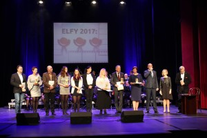Laureaci statuetek ELFY 2017