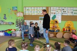 Łukasz Kolber i dzieci