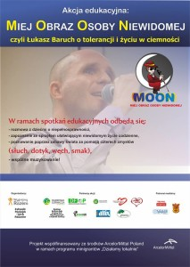 plakat 2 edycji akcji MOON
