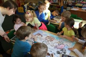 Justyna i przedszkolaki