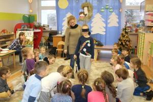 Spotkanie z przedszkolakami w Jaworznie