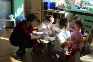 Justyna i dzieci