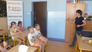 Warsztaty EDU - ANIMACJA - Aniela Lubieniecka i dzieci