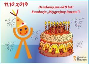 9 urodziny Fundacji Wygrajmy Razem