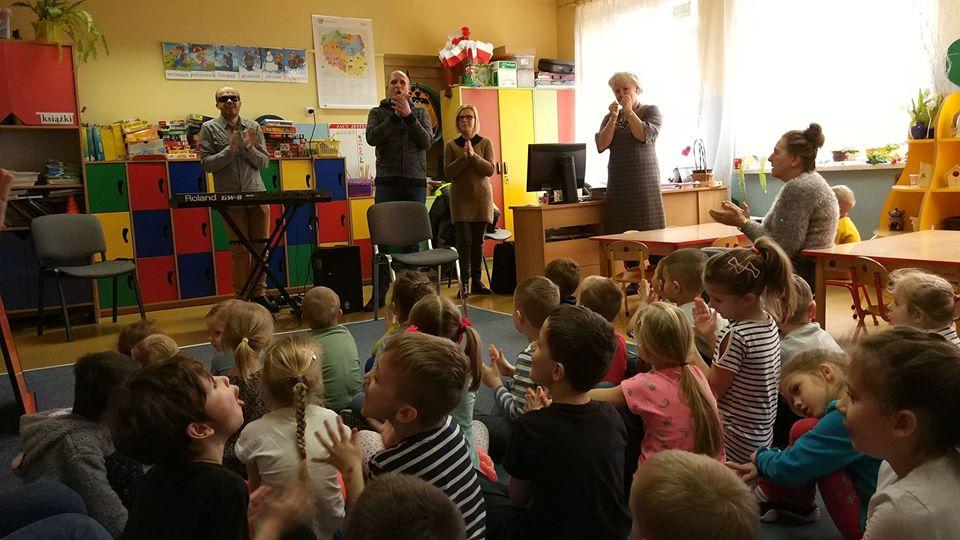 Spotkanie w przedszkolu numer sześć