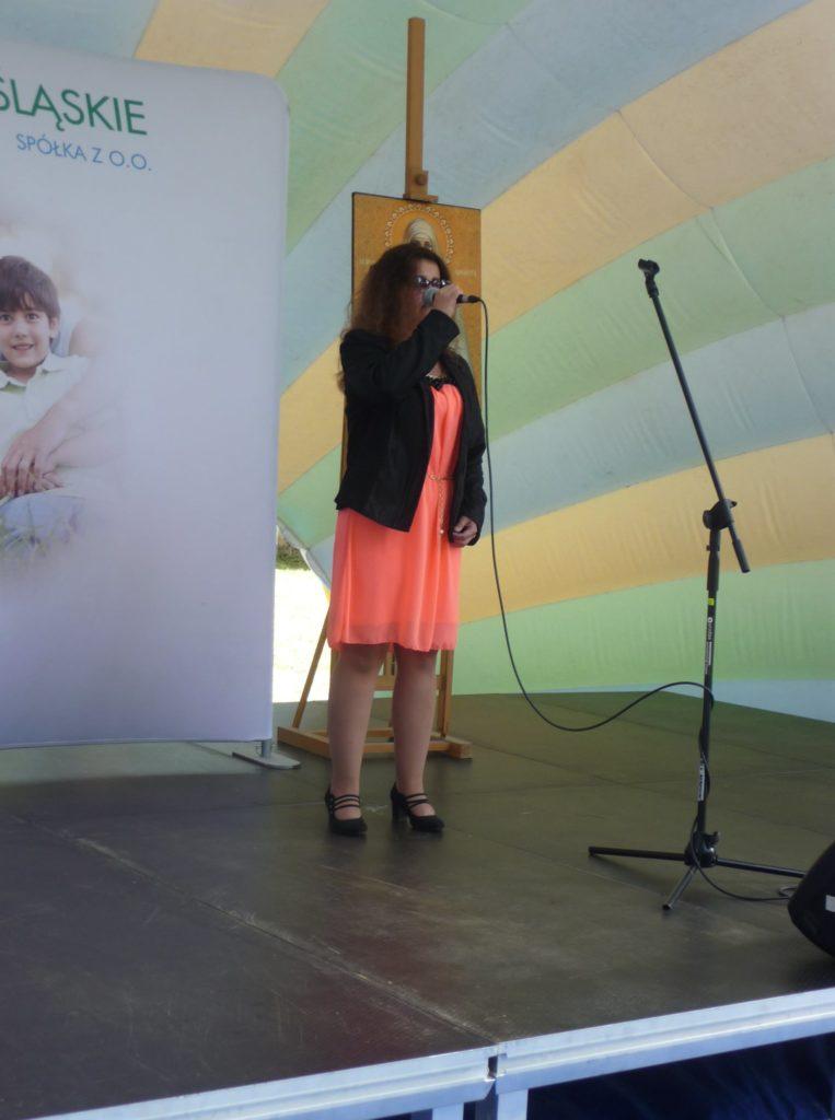 Monika Czerczak na scenie