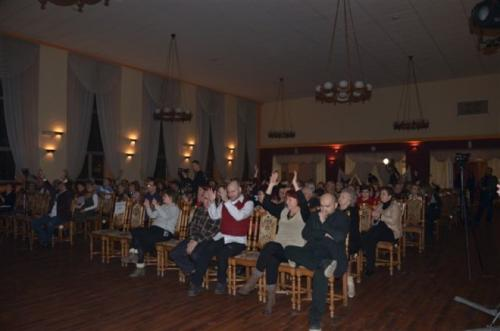 Publiczność podczas koncertu świetnie się bawiła