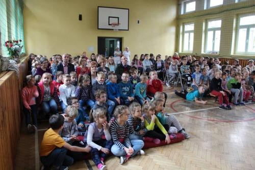 Publicznośc w szkole podstawowej nr. 11 w Dąbrowie Górniczej