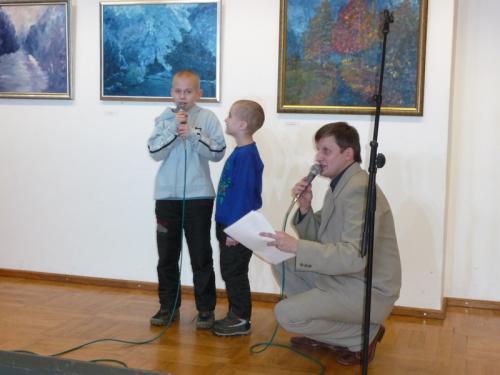 Karaoke dla dzieci z publiczności