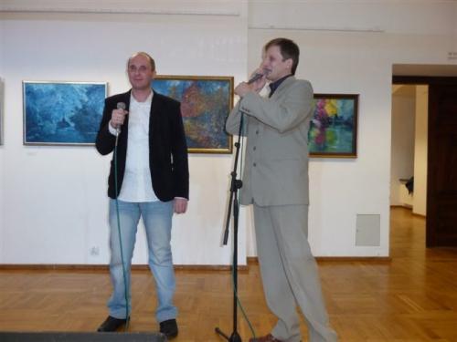 Łukasz Baruch i Piotr Szałwiński