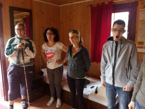 Rozśpiewka z uczestnikami