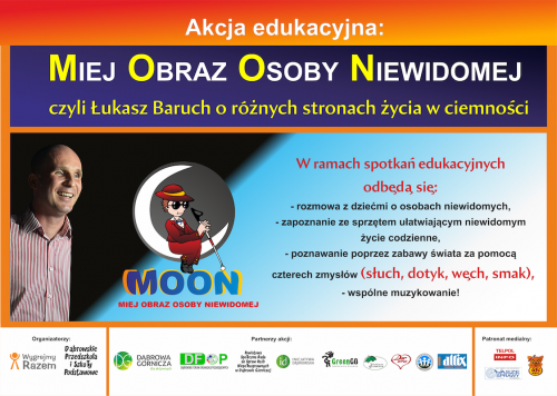 Plakat pierwszej edycji akcji MOON