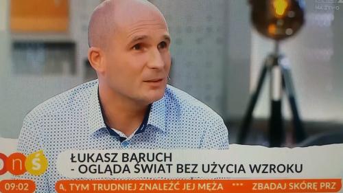 Łukasz Baruch opowiada o akcji MOON w TVP2