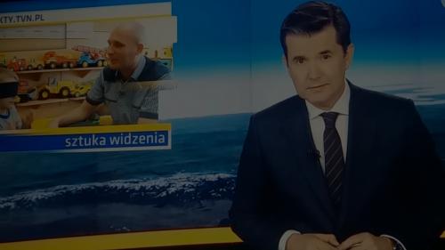 O akcji MOON w TVN.
