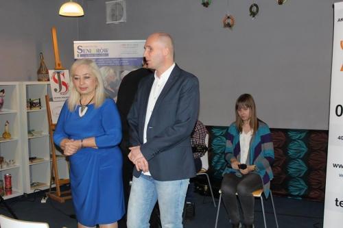 Iwona Kiernożycka i Łukasz Baruch