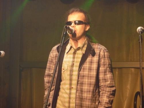 Grzesiek Dowgiałło jak zwykle dał popis swoich możliwości wokalnych