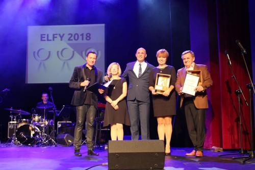 Rozdanie statuetek ELFY 2018