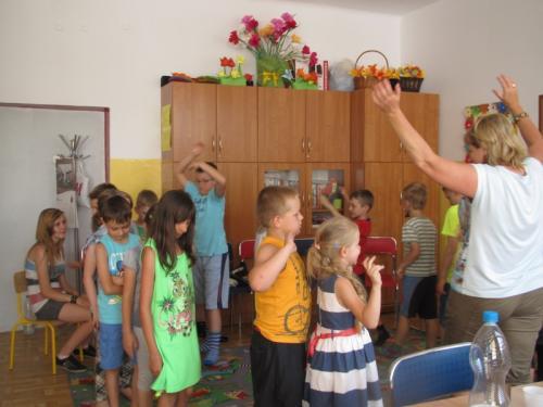 Dzieciaki świetnie się bawiły.