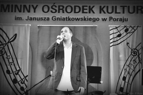 Występ podczas koncertu galowego Festiwalu piosenek Janusza Gniatkowskiego w Poraju