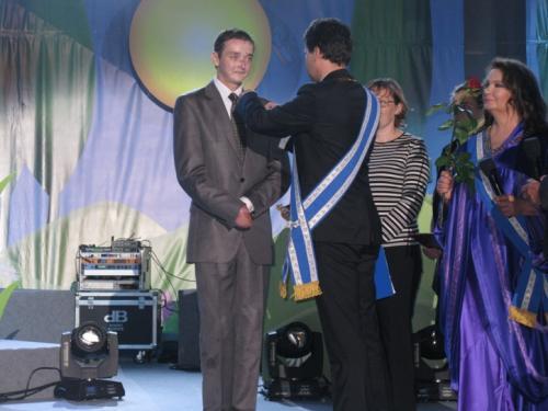 Uroczyste odznaczenie Orderem Uśmiechu przez Rzecznika Praw Dziecka,Pana Marka Michalaka