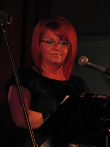 Prowadząca koncert WYGRAJMY RAZEM-Małgorzata Gębczyńska