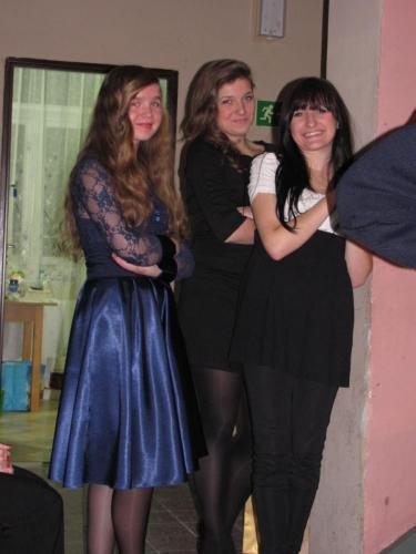 W oczekiwaniu na występ Wiktoria,Klaudia, Aneta