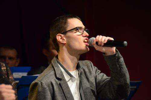 Kuba Kręcichwost reprezentujący dąbrowski SOSW rozpoczynał koncert i poradził sobie znakomicie
